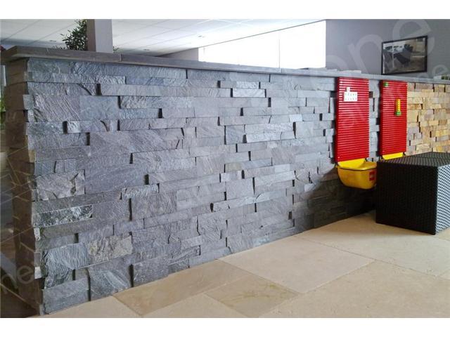 别墅围墙文化石墙-岩文化石